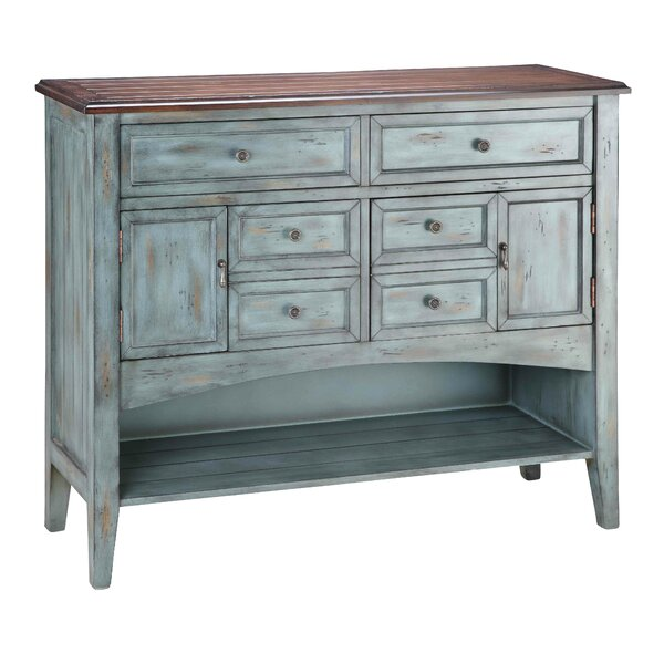 Painted Treasures 4 Drawer Accent Chest by Stein World