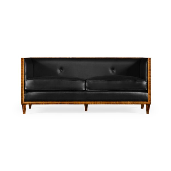 New Look Transitional Loveseat by Jonathan Charles Fine Furniture by Jonathan Charles Fine Furniture
