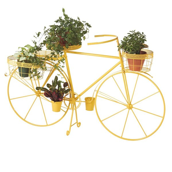 Dubay Bicycle Plant Stand by August Grove