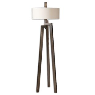 Uttermost floor lamps youll love wayfair mondovi 60 tripod floor lamp by uttermost mozeypictures Gallery