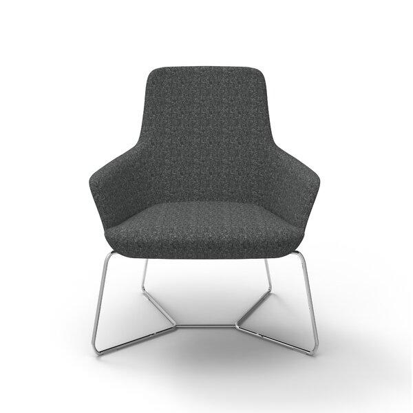 Superkool Metal Base Lounge Chair by David Edward