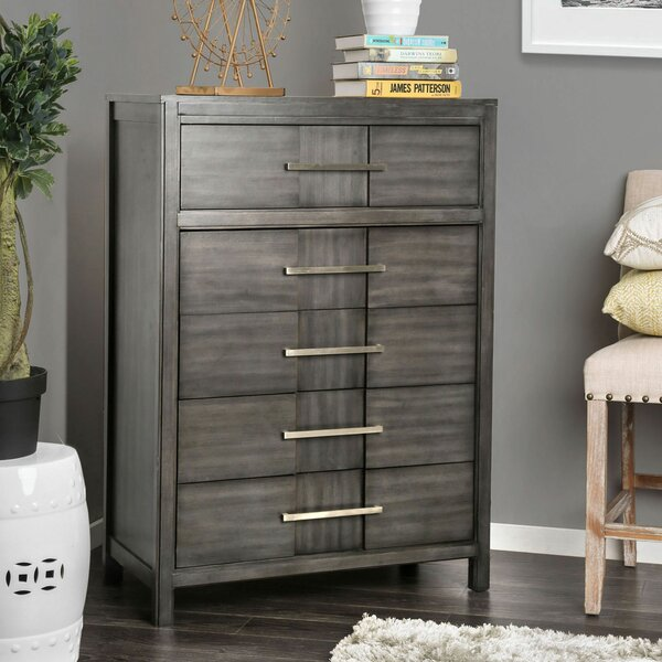 Midwest 5 Drawer Chest by Ivy Bronx