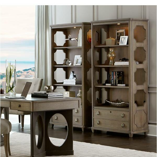 Virage Standard Bookcase by Stanley Furniture