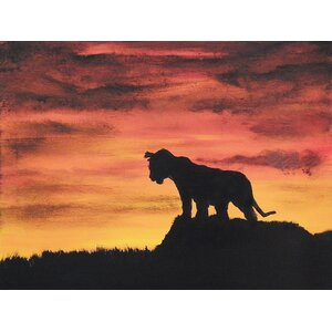 Can't Wait to be King by Ed Capeau Painting Print on Wrapped Canvas by Buy Art For Less