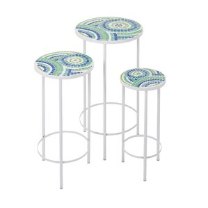 Three Forks 3 Piece End Table Set by Latitud..