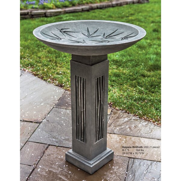 Sagano Birdbath by Campania International