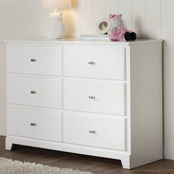 Skylar 6 Drawer Double Dresser by Viv + Rae