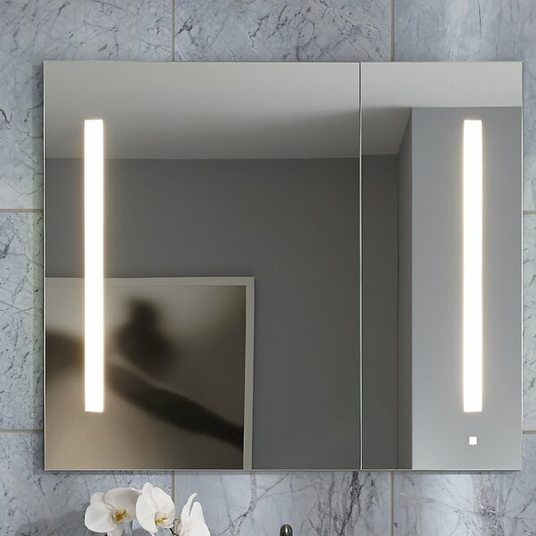 AiO 23.25 x 30 Recessed Medicine Cabinet with Lighting by Robern