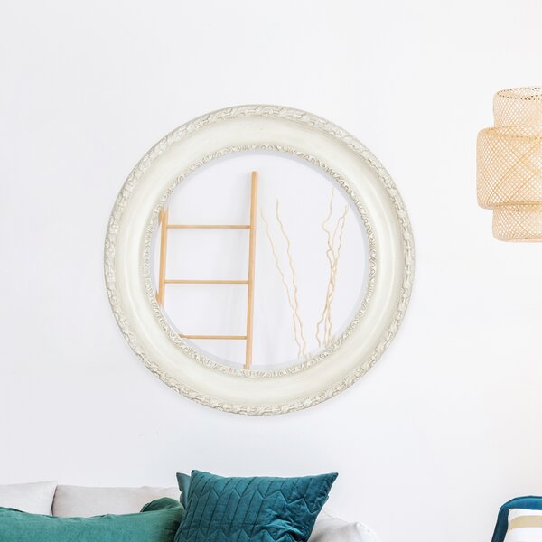 Peay Round Accent Mirror by World Menagerie