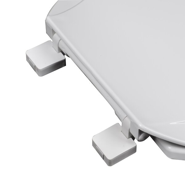 Heavy Duty Commercial Weight Slow Close Premium Plastic Elongated Toilet Seat by Plumbing Technologies LLC