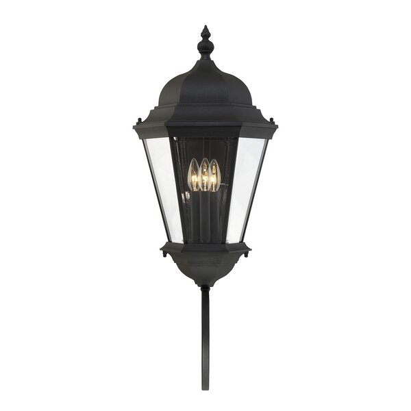 Randel 3-Light Outdoor Sconce by Charlton Home