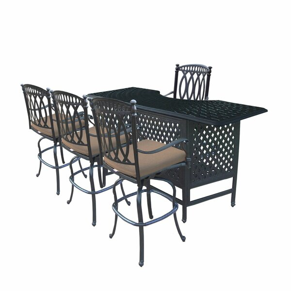 Otsego 5 Piece Aluminum Party Bar Set By Darby Home Co by Darby Home Co