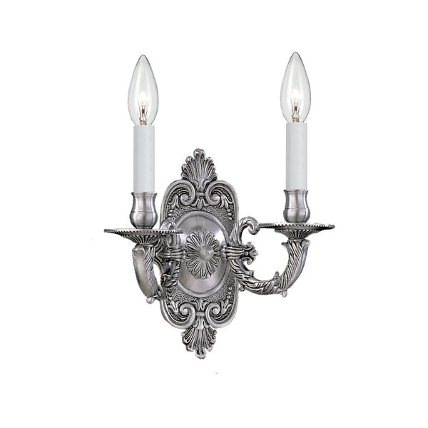 Montano 2-Light Candle Wall Light by Astoria Grand