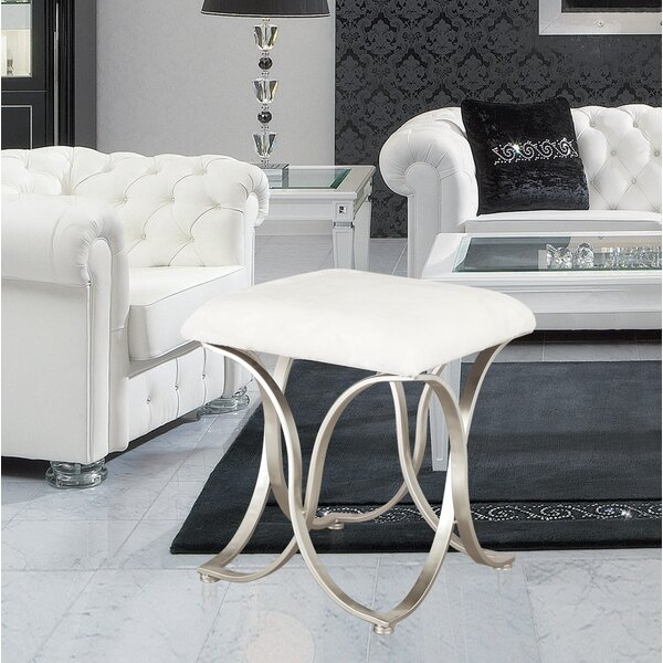 Luxury Entryway Accent Stool by Adeco Trading
