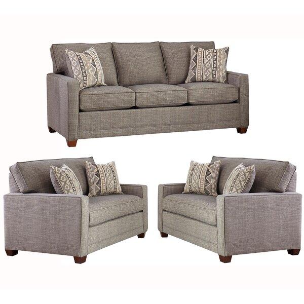 Nedra 3 Piece Sleeper Living Room Set by Brayden Studio