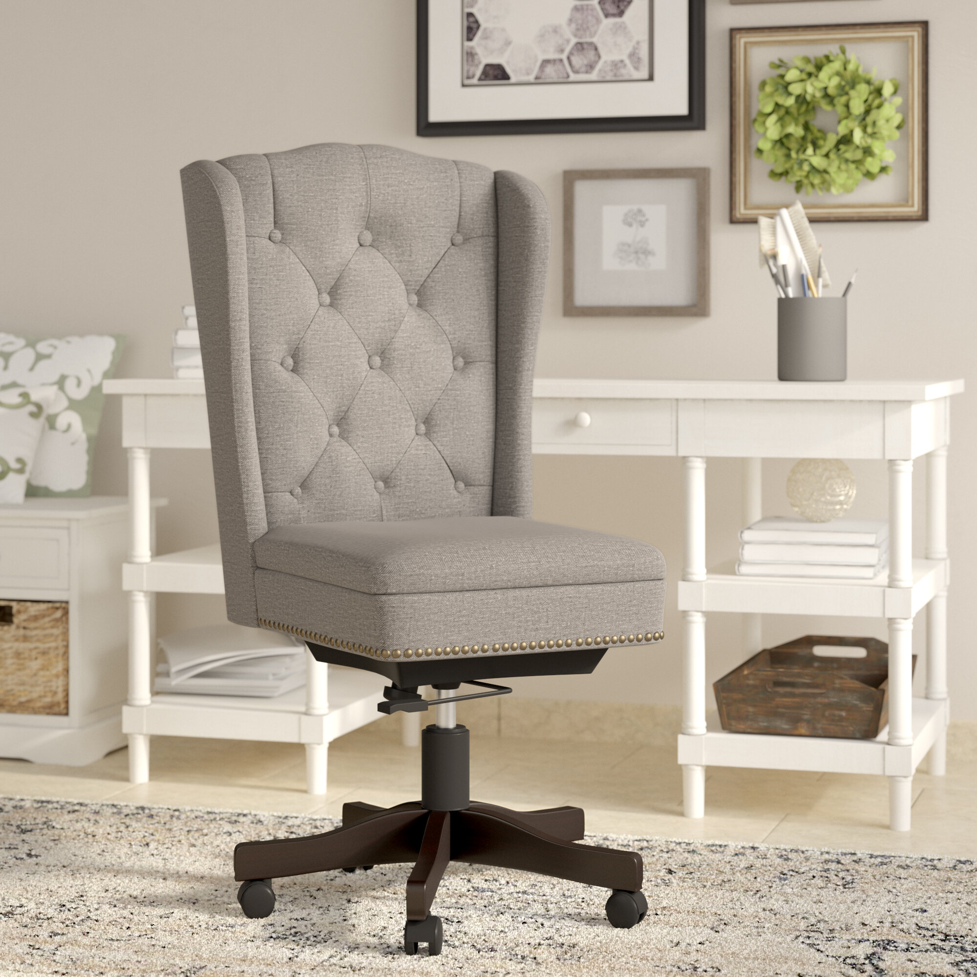 office linen west slope upholstered products desk o elm chair
