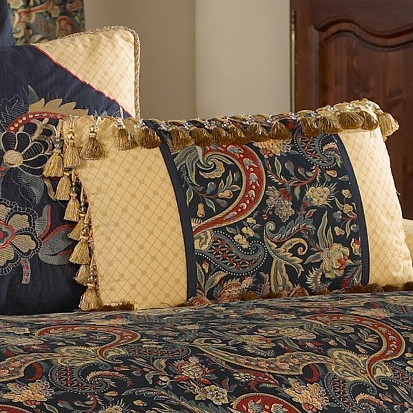 Rhapsody Reversible Cotton Throw Pillow by Waverly
