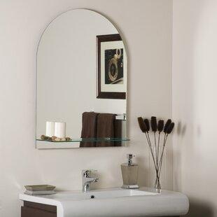 Decor Wonderland Roland Frameless Wall Mirror
