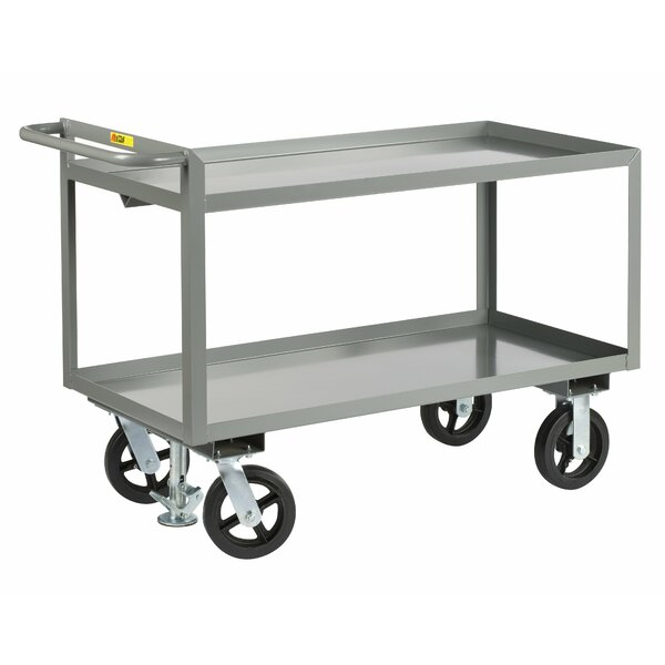 24 x 53.5 Merchandise Collector Steel Utility Cart by Little Giant USA