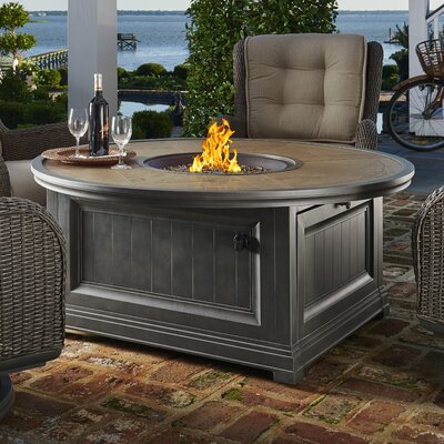 Paula Deen Cf Aluminum Gas Fire Pit Table Fireplaces