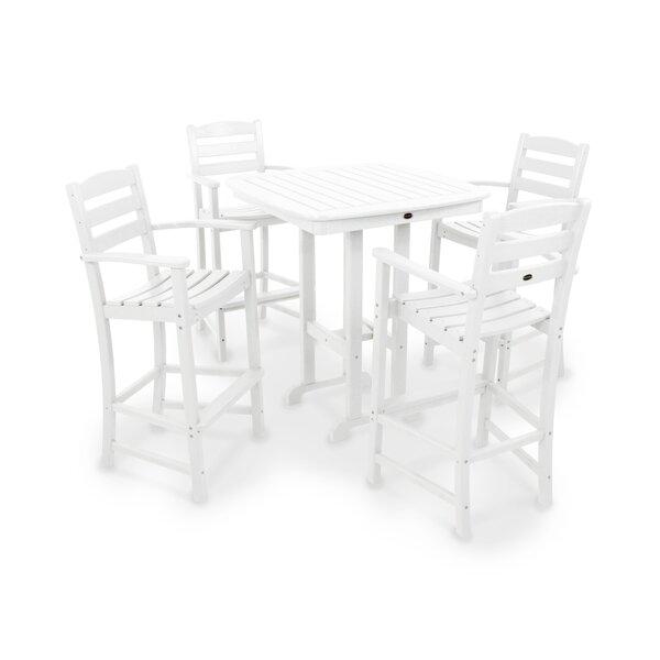 La Casa Café 5 Piece Bar Height Dining Set