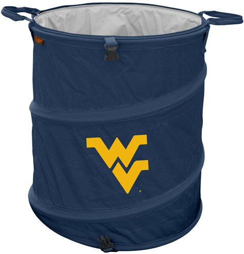 Collegiate Trash Can - West Virginia by Logo Brands
