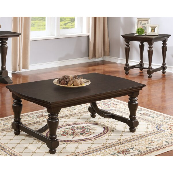 Kirsten 3 Piece Coffee Table Set by Darby Home Co