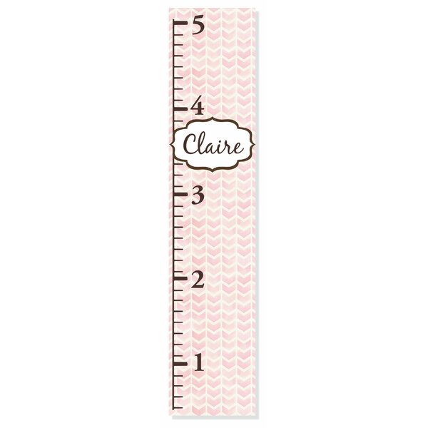 Chevron Growth Chart by Decor Designs  Decals