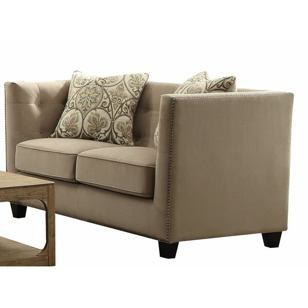 New Look Southa Loveseat by Canora Grey by Canora Grey