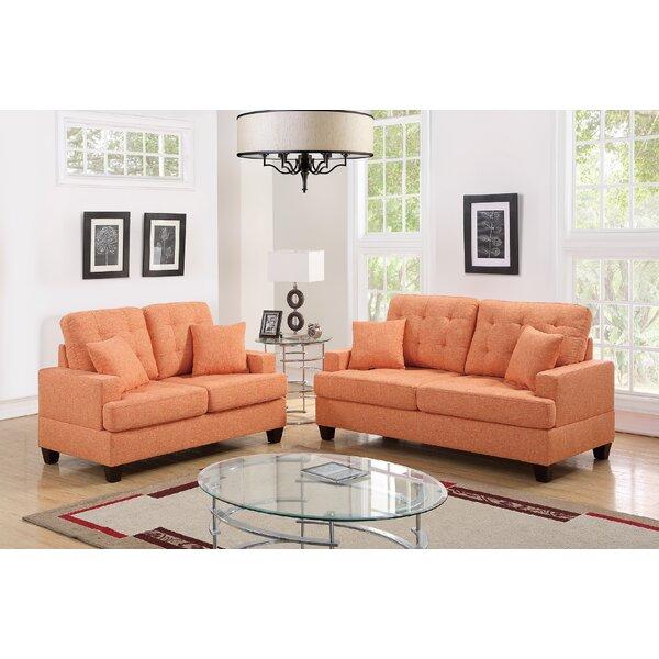 Draughn 2 Piece Living Room Set by Ebern Designs