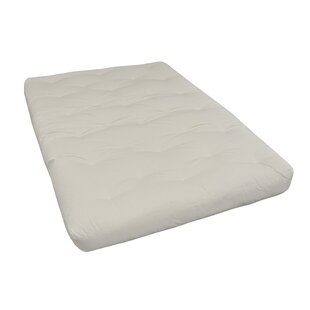 8 Cotton Twin XL Futon Mattress