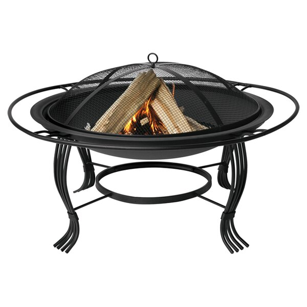 Norris Cast Iron Wood Burning Fire Pit by Uniflame Corporation