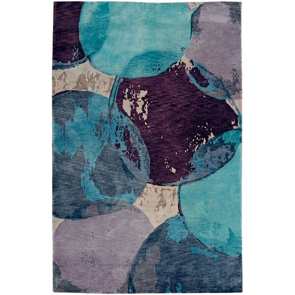 Specter Hand-Knotted Azure Area Rug by Capel Rugs