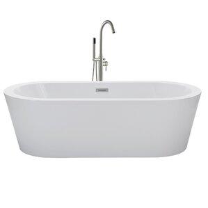 60 x 30 freestanding tub. 59  x 30 Freestanding Soaking Bathtub Tubs