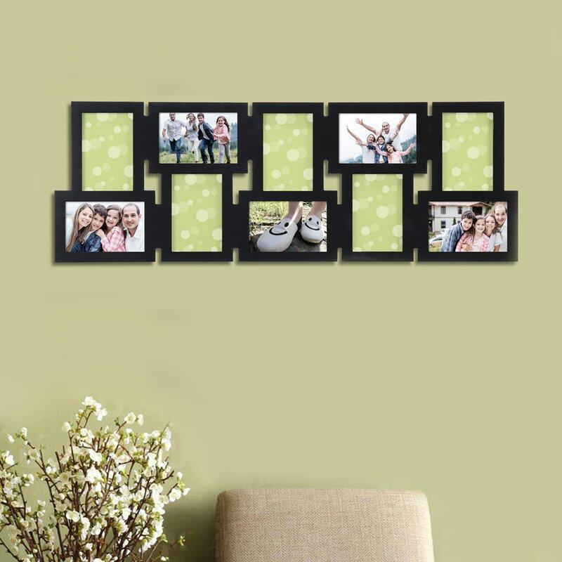 AdecoTrading 10 Opening Decorative Interlocking Wall Hanging Collage ...