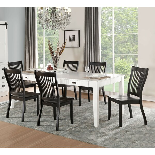 Pamella 7 Piece Dining Set by Andrew Home Studio