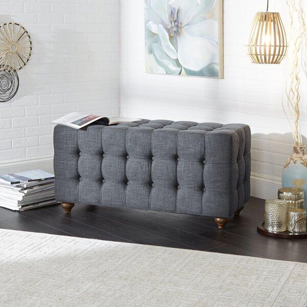 Sindelar Tufted Upholstered Bench by Charlton Home
