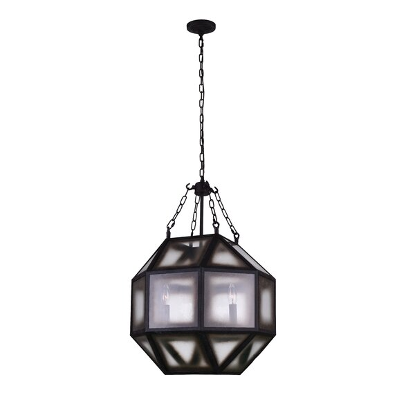 Thorne 4 - Light Unique / Statement Geometric Chandelier By Williston Forge