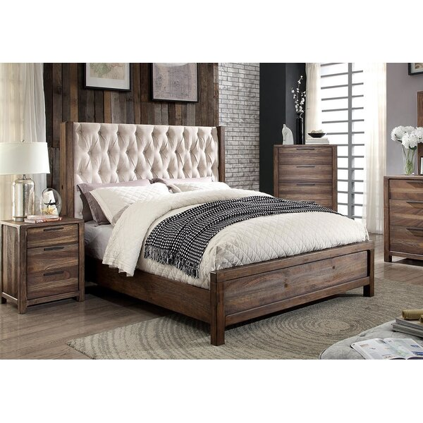 Geismar Upholstered Standard Bed by Gracie Oaks