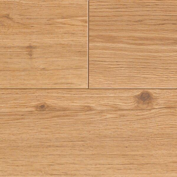 Revolutions 5'' x 51'' x 8mm Oak Laminate Flooring in Honeytone by Mannington