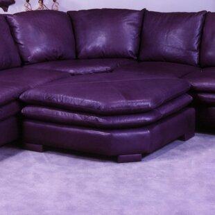 Fargo Leather Ottoman  by Omnia Leather