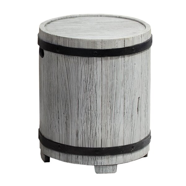 Barrel Side Table by Ove Decors