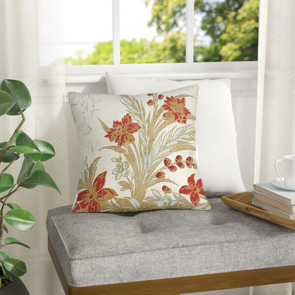 Scullin Printed Throw Pillow by Red Barrel Studio| @ $24.99