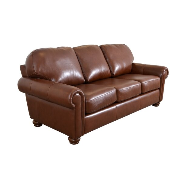 Online Shopping Quality Heath Leather Sofa by Westland and Birch by Westland and Birch