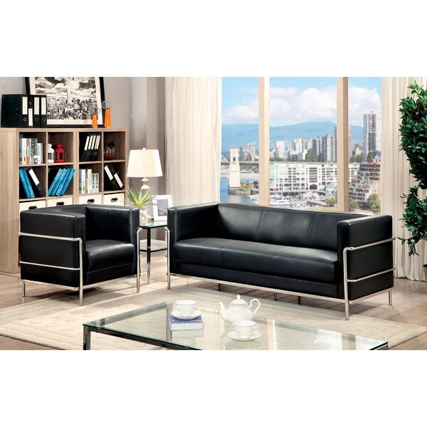 Gleason 2 Piece Living Room Set by Orren Ellis