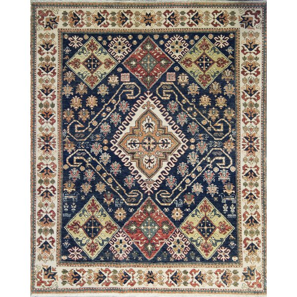 Templeton One-of-a-Kind Hand-Knotted Wool Navy Area Rug by Bokara Rug Co., Inc.