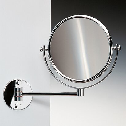 Wall Mounted Double Face Magnifying Mirror