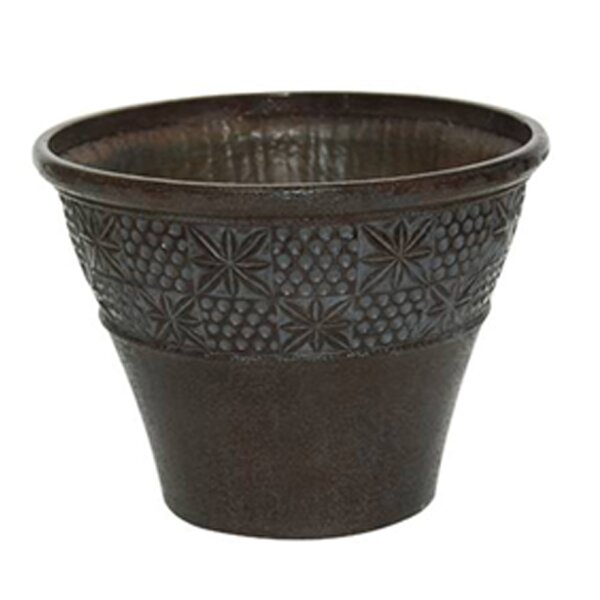 Traditional Fiberclay Pot Planter (Set of 2) by Winsome House