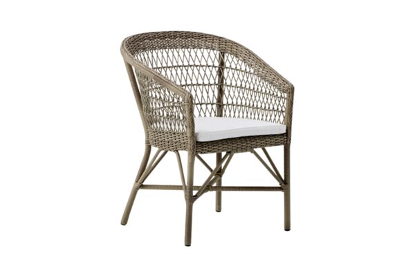 Outlook Stacking Patio Dining Chair by Bungalow Rose