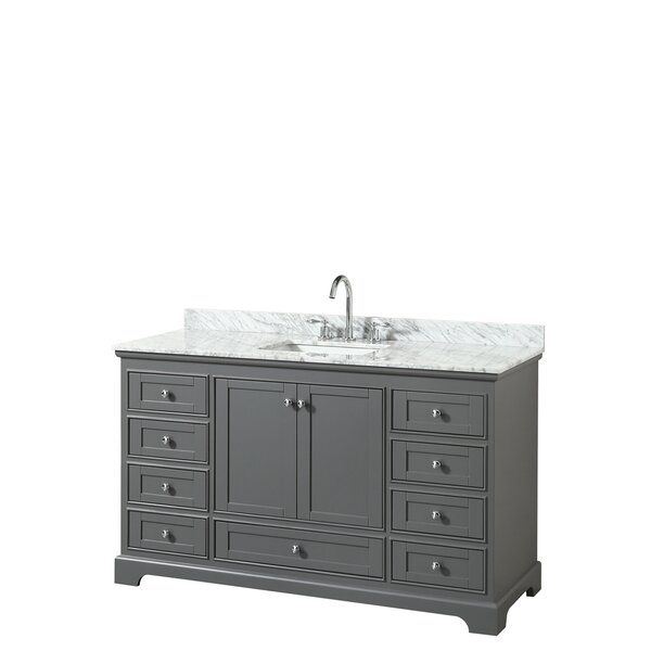 Deborah 60 Single Bathroom Vanity Set by Wyndham C